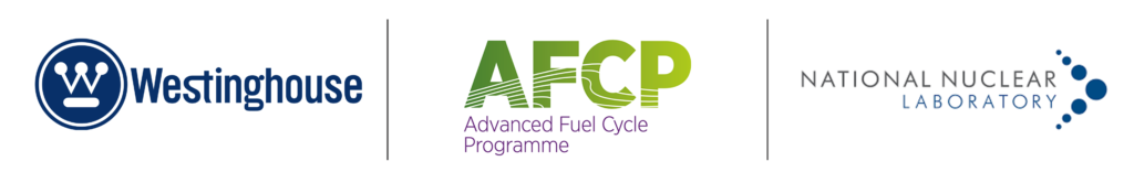 Westinghouse, AFCP, and NNL logos