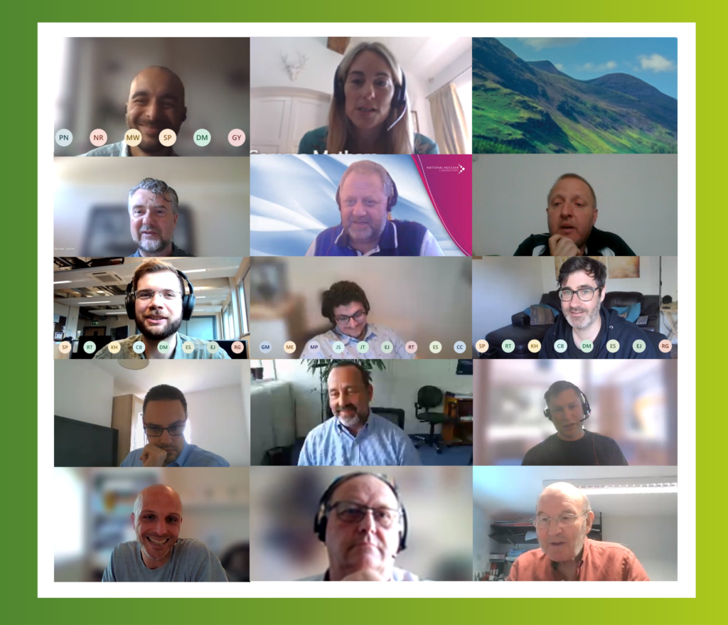 Collage of speakers from AFCP's virtual Sustainability Workshop